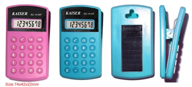 8 digit handy calculator with clip