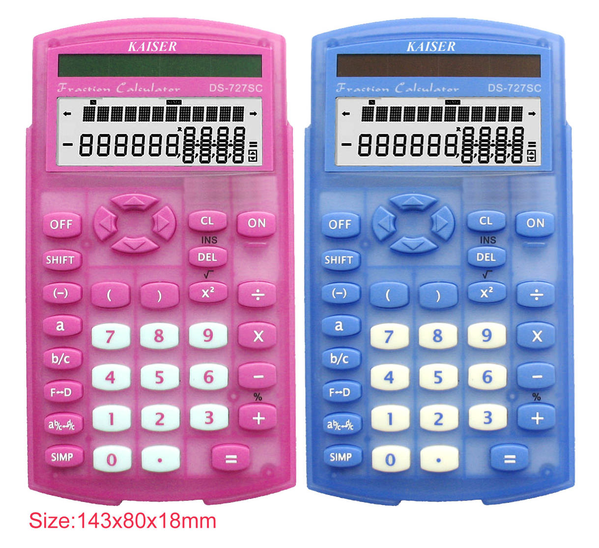 2-line 10 digit scientific calculator