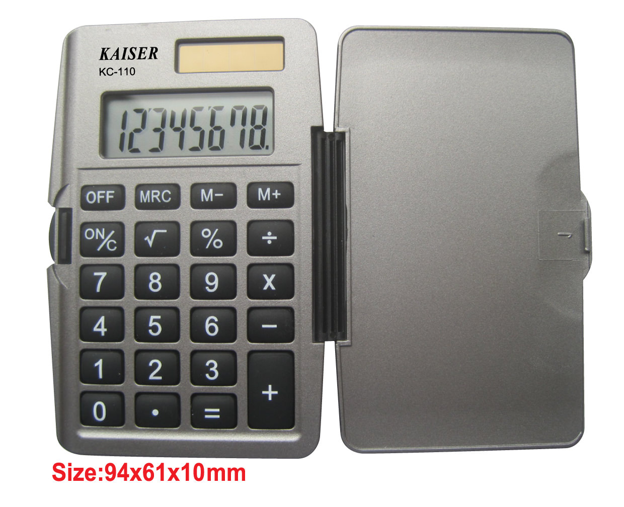 8 digit handy calculator with cover