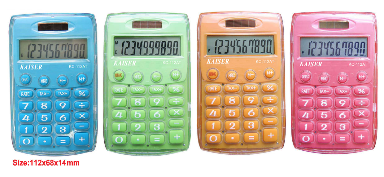 10 digit handy calculator with Tax