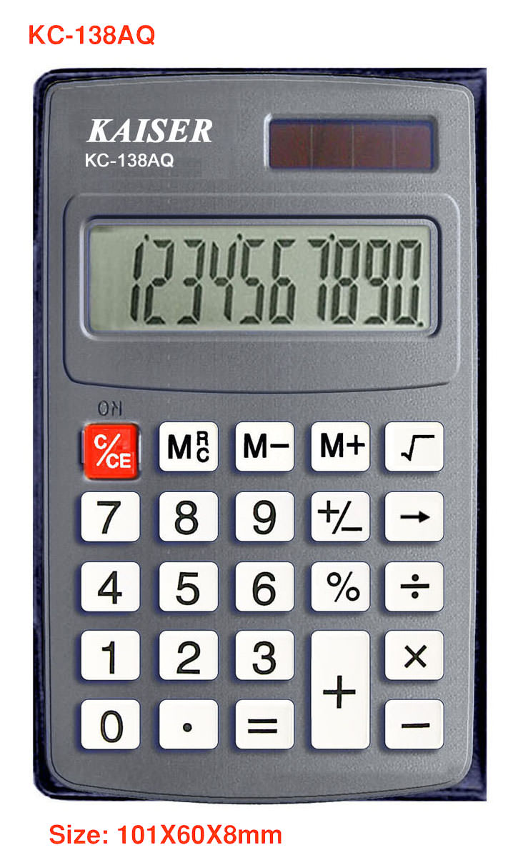 10 digit handy calculator