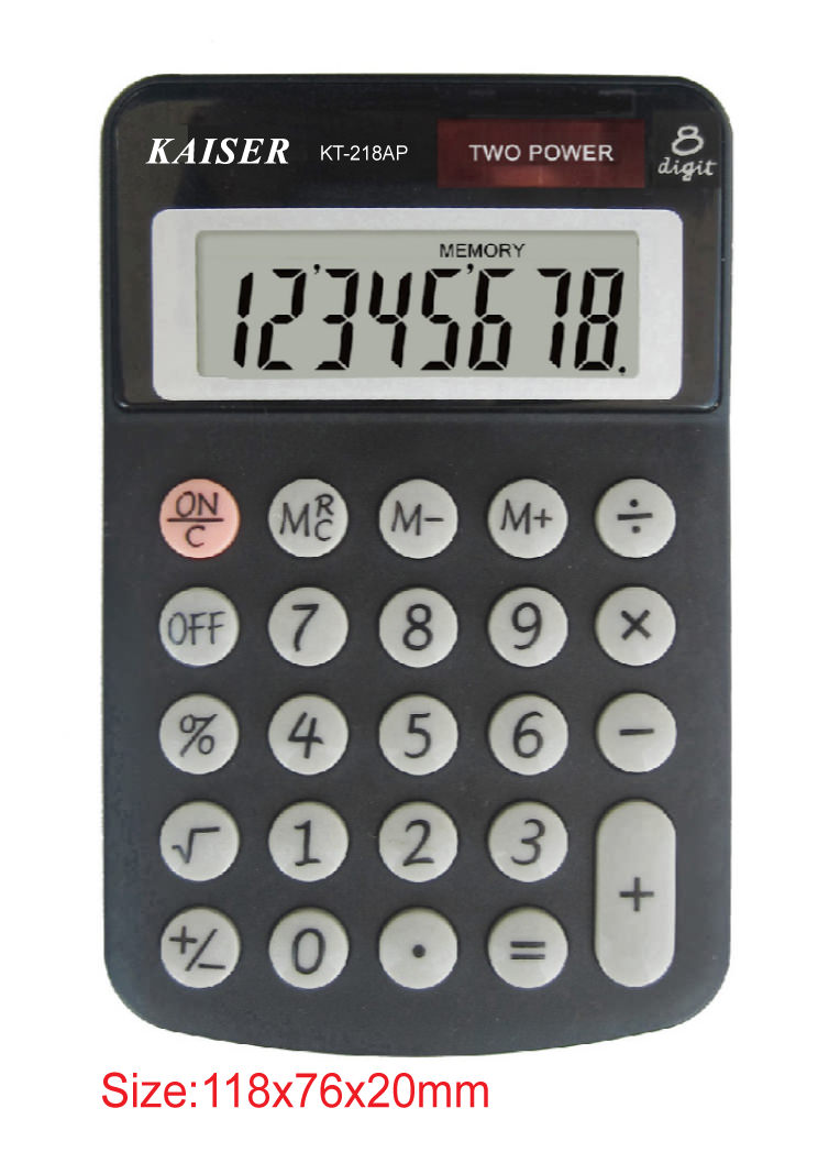 8 digit mid desktop calculator
